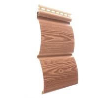 Наружный сайдинг Docke (Деке) Wood Slide цвет рябина