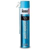 Клей-пена полиуретановый монтажный бытовой всесезонный KUDO HOME 12+ 1000 мл