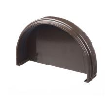 Заглушка желоба Docke (цвет шоколад)