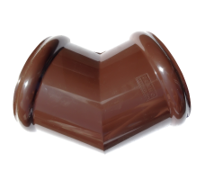 Угол желоба универсальный 135 градусов Технониколь (коричневый)