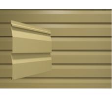 Виниловый сайдинг (наружный) Docke Dacha (светло-бежевый)