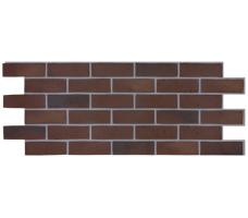 Фасадная панель Docke Berg (под кирпич-коричневый цвет)
