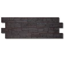 Фасадные панели Docke Stein (цвет темный орех)