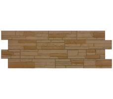 Фасадные панели Docke Stein (цвет осенний лес)
