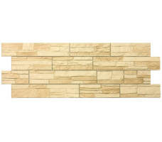Фасадные панели Docke Stein (янтарный цвет)