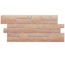 Фасадные панели Docke Burg (сайдинг под камень-песчаный цвет)