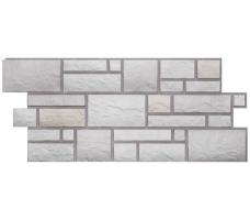 Фасадные панели Docke Burg (сайдинг под камень- цвет шерсти)