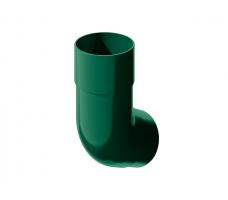 Колено трубы универсальное Технониколь (зеленый) цвет