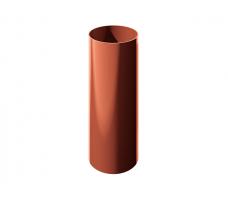 Водосточная труба Технониколь (красный) цвет