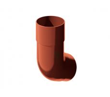 Колено трубы универсальное Технониколь (красный) цвет