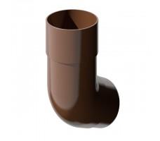 Колено трубы универсальное Технониколь (коричневый) цвет