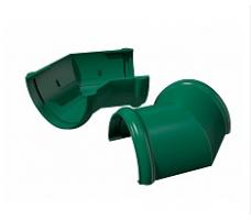 Угол желоба универсальный 135 градусов Технониколь (зеленый)